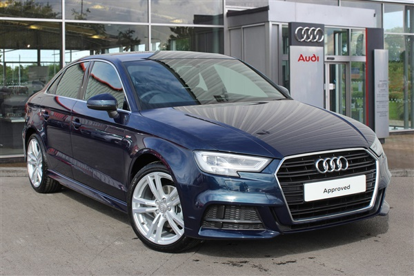Used 2016 Diesel Audi A3 In Cosmos Blue Metallic 3 977