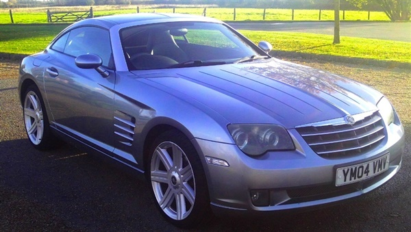 used 2004 petrol chrysler crossfire in blue 75 000 miles for sale in orpington for 3 987. Black Bedroom Furniture Sets. Home Design Ideas