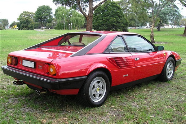 used 1982 petrol ferrari mondial in red 50 000 miles for sale in sutton coldfield for 500. Black Bedroom Furniture Sets. Home Design Ideas