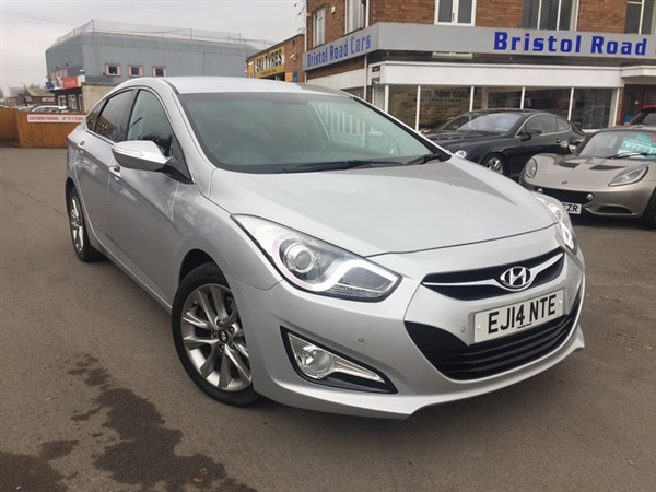 used 2014 diesel hyundai i40 in silver 30 000 miles for sale in gloucester for 10 689 autovillage. Black Bedroom Furniture Sets. Home Design Ideas