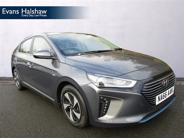 used 2016 hyundai ioniq in iron grey 1 892 miles for sale in newcastle upon tyne for 20 890. Black Bedroom Furniture Sets. Home Design Ideas