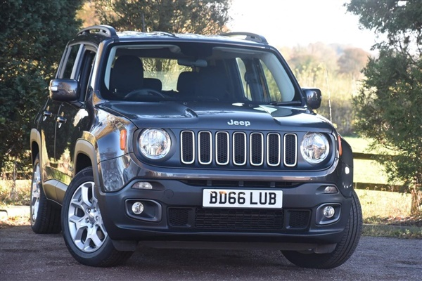 used 2016 petrol jeep renegade in grey metallic 3 450 miles for sale in coventry for 16 995. Black Bedroom Furniture Sets. Home Design Ideas