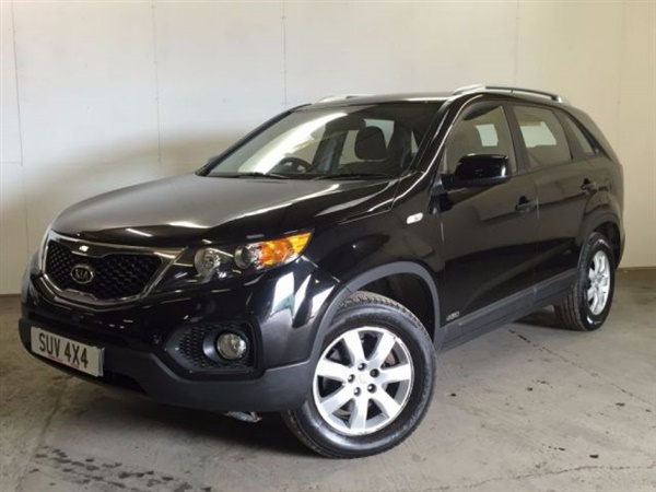 used 2010 diesel kia sorento in black 70 000 miles for sale in wetherby for 7 490 autovillage. Black Bedroom Furniture Sets. Home Design Ideas