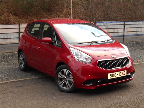 used 2016 petrol kia venga in red 734 miles for sale in selkirk for 12 995 autovillage. Black Bedroom Furniture Sets. Home Design Ideas