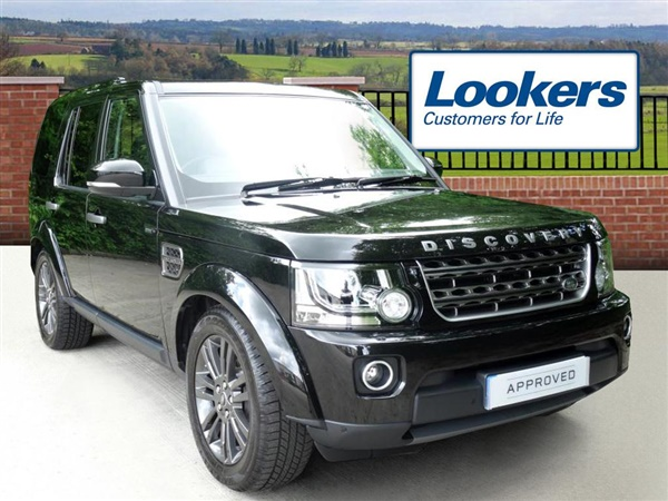 used 2016 land rover discovery in santorini black 3 650. Black Bedroom Furniture Sets. Home Design Ideas