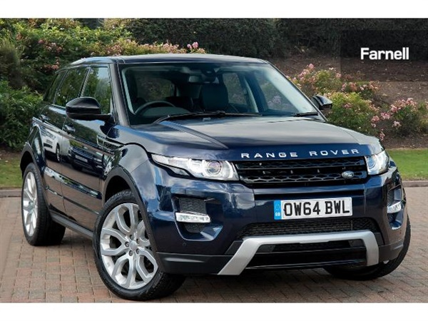 range rover evoque sd4 dynamic manuelle diesel evoque sd4 d 39 occasion recherche de voiture d. Black Bedroom Furniture Sets. Home Design Ideas