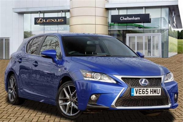 used 2015 lexus ct in ultra blue metallic 11 990 miles for. Black Bedroom Furniture Sets. Home Design Ideas