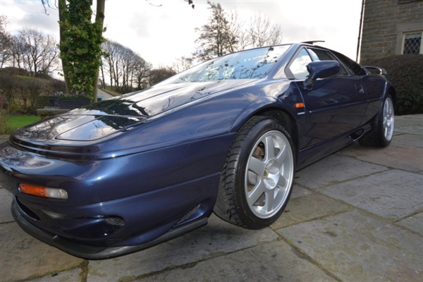 used 1998 petrol lotus esprit 7 000 miles for sale in chesterfield for 45 000 autovillage. Black Bedroom Furniture Sets. Home Design Ideas
