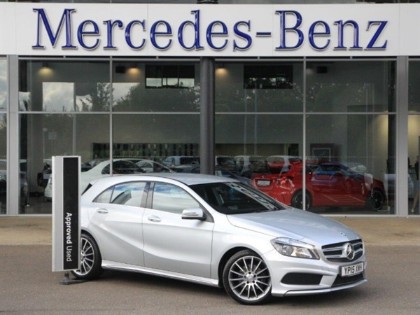 Used 2015 diesel mercedes benz a class in silver 17 310 for Mercedes benz peterborough