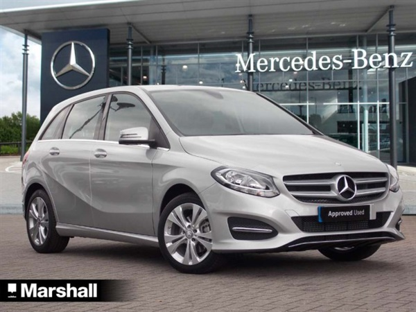 Used 2016 diesel mercedes benz b class in silver 5 266 for Southampton mercedes benz