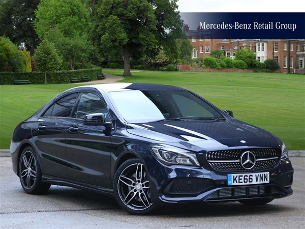 Used 2017 Mercedes Benz Cla Class Cla 220 D Amg Line Coupe