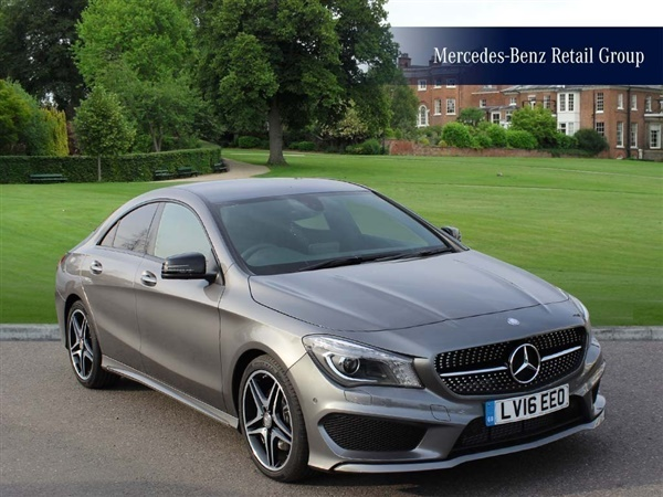 Used 2016 diesel mercedes benz cla class in mountain grey for Mercedes benz cla for sale uk