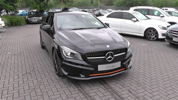 Used 2016 diesel mercedes benz cla class in cosmos black for Mercedes benz cla for sale uk