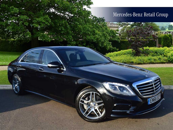 Used 2017 Mercedes Benz S Class S 350 D L Amg Line Auto In
