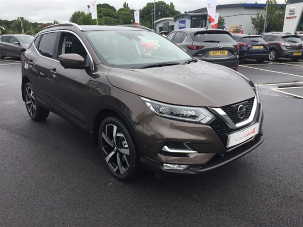 Used 2017 Nissan Qashqai Tekna Auto In Chestnut Bronze For