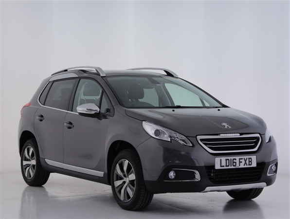 used 2016 peugeot 2008 1 2 puretech allure 5dr in nimbus grey for sale in epsom for 11 998. Black Bedroom Furniture Sets. Home Design Ideas