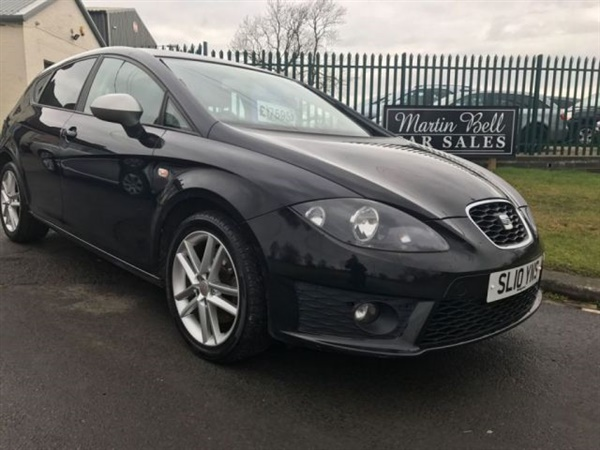 used 2010 diesel seat leon in black 55 000 miles for sale in wackerfield for 6 995 autovillage. Black Bedroom Furniture Sets. Home Design Ideas