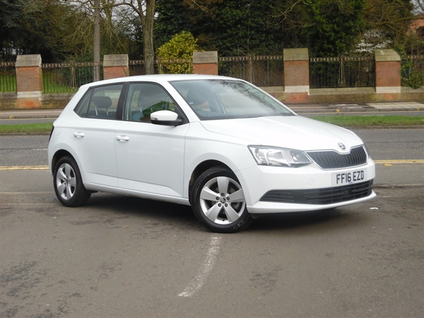 used 2016 skoda fabia 1 2 tsi 90 se 5 door in white for. Black Bedroom Furniture Sets. Home Design Ideas
