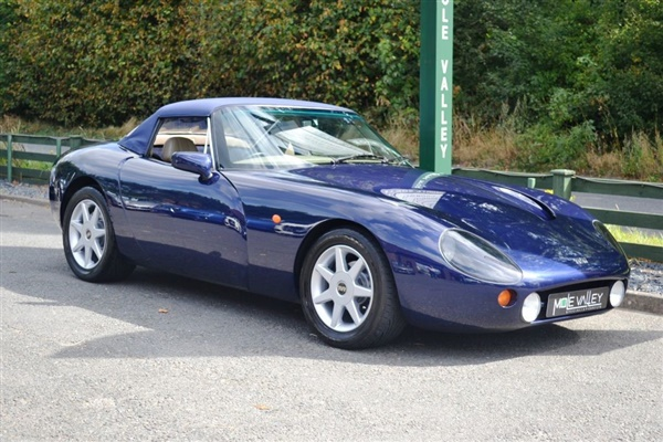 used 2000 petrol tvr griffith in indigo blue 56 661 miles for sale in capel nr dorking for. Black Bedroom Furniture Sets. Home Design Ideas